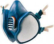 3M 4251 Maschera Antigas Semimaschera Respiratore con doppio fitro incorportato
