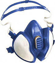 3M 62455-30150 Maschera Antigas Mascherina Antipolvere Respiratoria Classe FFA1P2