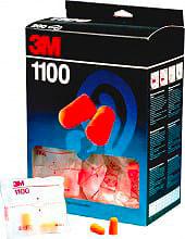 3M Tappi Orecchie Monouso Antirumore Confezione da 200 pezzi 69229