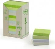 3M 91412 Post-It Note In Carta Riciclata 24 confezioni Pastello 653-1Rpt