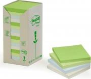 3M 91413 Post-It Note In Carta Riciclata 16 confezioni Pastello 654