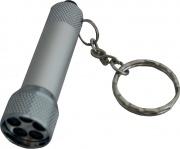 3Pmark 58061 Torcia Led Con Portachiavi Batterie Incluse Pezzi 12
