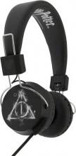4Side HP0617 Cuffie Padiglione auricolare jack 3.5 mm Nero Bianco Harry Potter