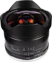 7Artisans 495141 Obiettivo per Fotocamera Milc Obiettivo Fish-Eye Ampio Nero