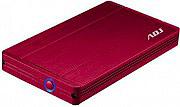 "ADJ Box Hard Disk Esterno 2.5"" Sata USB 3.0 HDD 12.5mm 120-00008 AH650"