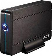 "ADJ 120-00010 Box Hard Disk Esterno 2.5"" Sata USB 3.0 Office Series col Nero AH640"