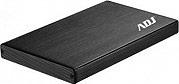 """ADJ Box Hard Disk Esterno 2.5"""" Sata USB 3.0 WiFi HDD 9.5mm 120-00018 AHF02"""