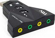 ADJ Scheda Audio PC USB 2.0 Audio 7.1 $ uscite Jack 3.5 mm Windows 130-00004