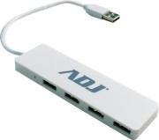 ADJ 143-00017 Hub USB 4 Porte USB 2.0 colore Bianco