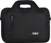 "ADJ 180-00006 Borsa per Notebook 15.6"" Valigetta Ventiquattrore in Neoprene Nero"