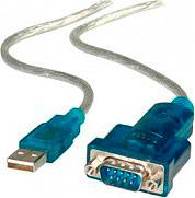 ADJ 320-00001 Adattatore Porta Seriale da USB Maschio a Seriale DB9 1.8 mt