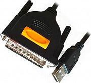 ADJ 320-00031 Adattatore da USB Maschio a Parallela 1284 lunghezza 1.8 mt