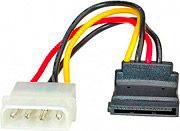 ADJ 320-00044 Cavo alimentazione Sata ATX 4 Pin 0.16 m