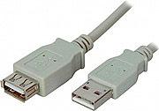 ADJ 320-00070 Adattatore USB da USB Maschio a USB Femmina 3 Metri