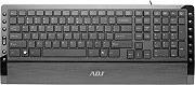 ADJ Tastiera PC con paggiapolsi Keyboard 121 tasti USB Nero - 500-00004 TA190
