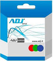 ADJ Cartuccia Compatibile Inkjet Ciano per Stampanti PIXMA IP42004500 610-00024