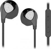 ADJ 780-00042 Auricolari Cuffiette Stereo Mp3 con Microfono jack 3,5 Nero