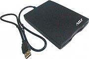 "ADJ Lettore Floppy Disk USB Esterno floppy 1.44"" Nero ADJFPOFUSBB Office Series"