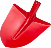 AGEF 514001A1A Badile a Punta Spalla Curva Acciaio colore Rosso 30 SENZA MANICO