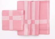 ALCESTE FF0051 Tovaglioli in Cotone Confezione da 6 colore Rosa