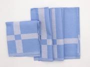 ALCESTE FF0731 Tovaglioli in Cotone Confezione da 12 colore Azzurro