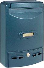 NBrand Cassetta postale in Alluminio con Serratrura EUROPA RIVISTA