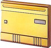 ALUBOX Cassetta Postale Alluminio con cilindro mm. 365x70x290 h Bronzo SIRE