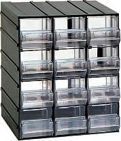 ArtPlast 511T Cassettiera Porta Minuteria 12 Cassetti Dim. 192 x 148 x 230 h