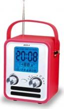 AUDIOLA WR-772 AX Radiosveglia Snooze Temperatura Calendario colori Assortiti