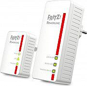 AVM 20002684 Powerline Adattatore di Rete Fast Ethernet 500 Mbits D Set 2 pz 540E WLAN