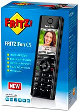 AVM 20002749 Telefono Cordless Dect con Vivavoce e Segreteria FRITZ! Fon C5 International