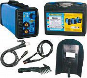 AWELCO MIKRO 134 Saldatrice Inverter elettrodo + Valigetta e Kit saldatura