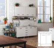 AZUR LINE BFB80KIT Mobile base cucina 80x50x85 h cm Bianco