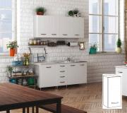 AZUR LINE BFP40KIT Pensile Cucina Bianco 1 Anta 40x30x72h cm