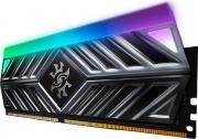 Adata AX4U320038G16A-ST41 RAM DDR4 8Gb 3200 Mhz Xpg Rgb Led Strip Titanium
