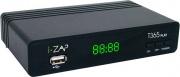 Adb IZAPT365PLAY Decoder Digitale Terrestre HD Ready DVB-T2 HDMI USB SCART Nero