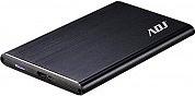 """ADJ Box Esterno Ultra Slim per Hard Disk SSD  HDD 7 mm  2.5"""" 120-00020"""