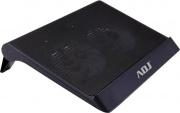 """ADJ 130-00009 Supporto per Notebook fino a 17"""" con 2 ventole di Raffreddamento"""