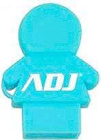 ADJ 141-00023 Lettore Micro Sd  Tf Card USB 2.0 colore Azzurro