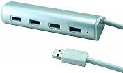 ADJ HUB USB 3.0 4 Porte NO Alimentatore colore Silver - 143-00011