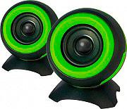 ADJ Casse per PC 2.0 Potenza 6 Watt USB colore Verde Lime  Nero 760-00011