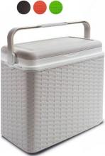 Adriatic 8952 Frigo Termico Coolbox Rattan Bianco lt 24