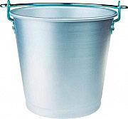 Agnelli Secchio per Latte in Alluminio Puro capacità 12 litri ø 34x28 FAMA8012
