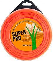 AGP T+P Filo in Nylon per Decespugliatore Quadro 3.3x39 Mt Arancione