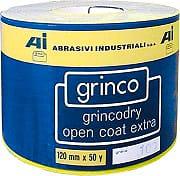 Abrasivi Industriali Carta vetrata 120x45 mt Grana 80 OCE