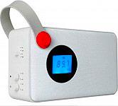 Akai AKBT60BI Radio Portatile Digitale FM RDS Aux Bluetooth Bianco