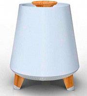 Akai AKBT80 Lampada Multicolore + Cassa Bluetooth Speaker 10 Watt  Smart Lamp