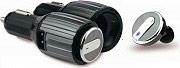 Akai BTH41 Caricabatterie auto USB + Auricolare bluetooth 4.0 colore Nero