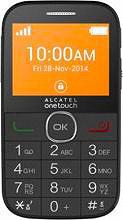 "Alcatel 20.04G Telefono cellulare 2.4"" Bluetooth USB col Nero 2004G-2AALIT1 ITA"