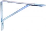 Aldeghi 2576AZ40_S Reggimensola Reggi piani 400 mm in Acciaio zincato
